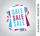 special offer sale tag discount ...   Shutterstock .eps vector #404358706