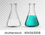 laboratory glassware or beaker | Shutterstock .eps vector #404363008