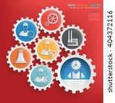 engineer industry design gear... | Shutterstock .eps vector #404372116