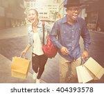 people shopping spending... | Shutterstock . vector #404393578