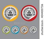 vector   circle non gmo... | Shutterstock .eps vector #404400736