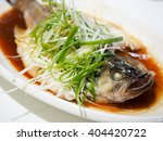 Fish In Soy Sauce  Served On...