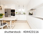 interior of fancy kitchen | Shutterstock . vector #404423116