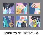 set of creative universal... | Shutterstock .eps vector #404424655