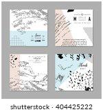 set of artistic creative... | Shutterstock .eps vector #404425222