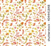 watercolor paisley seamless... | Shutterstock .eps vector #404441848