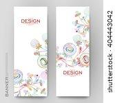 beautiful banner vector... | Shutterstock .eps vector #404443042