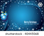 christmas background | Shutterstock .eps vector #40445068