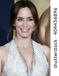 Emily Blunt At The Los Angeles...