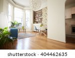 open plan living area in modern ... | Shutterstock . vector #404462635