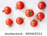 tomatoes. red ripe tomatoes on... | Shutterstock . vector #404465212