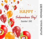 portugal independence day... | Shutterstock .eps vector #404466385