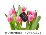 mothers day background. tulips... | Shutterstock . vector #404471176