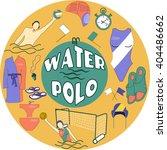 water polo logo | Shutterstock .eps vector #404486662