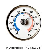 detail of a thermometer for... | Shutterstock . vector #40451335