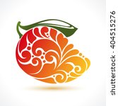 decorative ornamental mango... | Shutterstock .eps vector #404515276