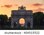 the arc de triomphe du... | Shutterstock . vector #404515522