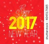 creative modern card new year... | Shutterstock .eps vector #404517085