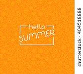 summer background in trendy... | Shutterstock . vector #404518888