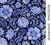 abstract seamless floral... | Shutterstock . vector #404520136