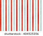 Watercolor Red And Blue Stripe...