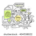 vector illustration of creative ... | Shutterstock .eps vector #404538022