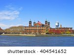 View On Ellis Island  Usa  In...