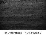 black brick wall. grunge texture | Shutterstock . vector #404542852