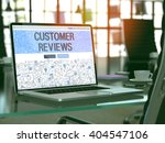 customer reviews concept  ... | Shutterstock . vector #404547106