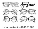 hand drawn vector illustration  ... | Shutterstock .eps vector #404551288