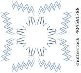 circular pattern of zodiac... | Shutterstock .eps vector #404561788