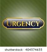 urgency shiny emblem | Shutterstock .eps vector #404574655