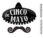 cinco de mayo black and white... | Shutterstock .eps vector #404580568