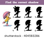 find the correct shadow ...   Shutterstock .eps vector #404583286
