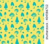 vector seamless natural pattern ... | Shutterstock .eps vector #404586712