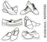 shoes | Shutterstock .eps vector #404593582