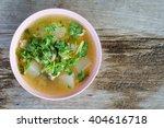 soup boil the lemon chicken... | Shutterstock . vector #404616718