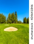 golf course with gorgeous green ... | Shutterstock . vector #404641846