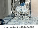 processing   milling process of ... | Shutterstock . vector #404656702