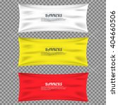 color textile banners with... | Shutterstock .eps vector #404660506