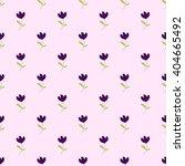 seamless vector floral pattern. ... | Shutterstock .eps vector #404665492