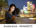 woman use of mobile phone at...   Shutterstock . vector #404668372