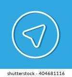 aircraft blue vector logo  jpg  ... | Shutterstock .eps vector #404681116