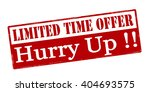 rubber stamp with text limited... | Shutterstock .eps vector #404693575