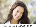 portrait of a woman | Shutterstock . vector #404719255