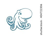 vector octopus | Shutterstock .eps vector #404722306