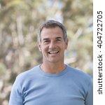portrait of a mature man | Shutterstock . vector #404722705