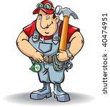 repairer   Shutterstock .eps vector #40474951