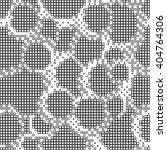 abstract halftone vector pixel... | Shutterstock .eps vector #404764306