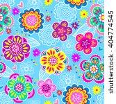 vector seamless geometric cute...   Shutterstock .eps vector #404774545